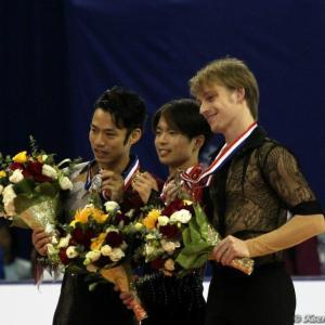 ヴォロノフ選手の引退と2012中国杯表彰式&大輔さんの魅力を引き出したポートレート