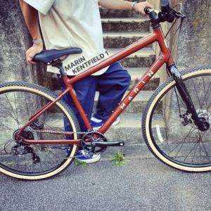 2021 MARIN「KENTFIELD 1」マリン ケントフィールド おしゃれ自転車 オシャレ自転車 自転車女子 自転車ガール クロスバイク