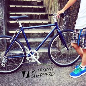 2020 RITEWAY ライトウェイ『 SHEPHERD 』シェファード スタイルス 26インチ グレイシア シェファード パスチャー シェファードシティ クロスバイク 自転車女子 おしゃれ自転車