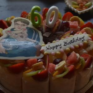 ♪ ダニエル サプライズでおとうしゃんの還暦のお祝いとルアナちゃん2歳のお誕生日会~(*^。^*)  ♪