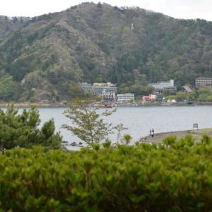 ♪ ダニエル  河口湖でランチ~(#^.^#) ♪