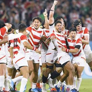 ラグビーW杯 日本 vs アイルランド