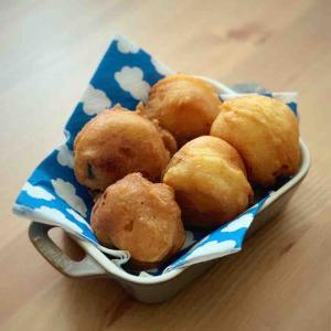 【米油部】プルーン入り豆腐ドーナツ