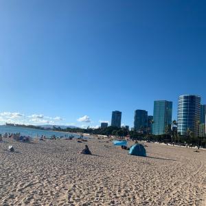 ハワイ旅行2日目「アルモアナビーチパーク」