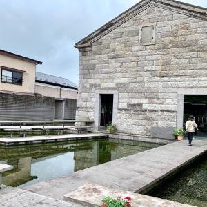 夏休み旅行「石の美術館」