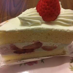 突然のショートケーキ♡