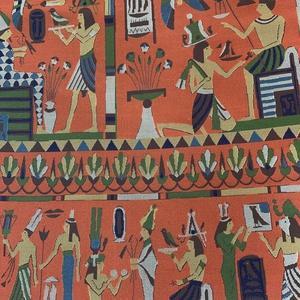 エジプトの壁画チックな名古屋帯♪