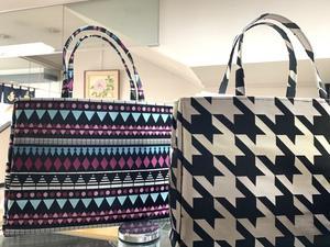 出番が増える、和にも洋にも使えるバッグが入荷しました。