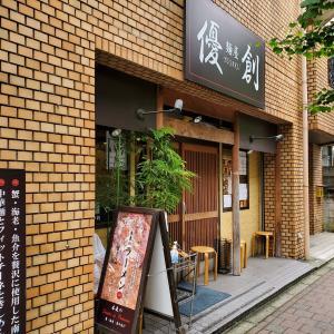 【優創@大久保】魚介醤油ラーメン(880円)