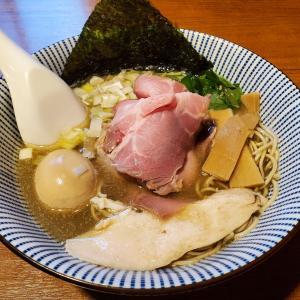 【寿製麺よしかわ@川越】一番搾りの煮干しそば特製(1010円)