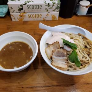 【弐☆゛屋@日進】濃厚煮干しつけ麺 大 (900円)