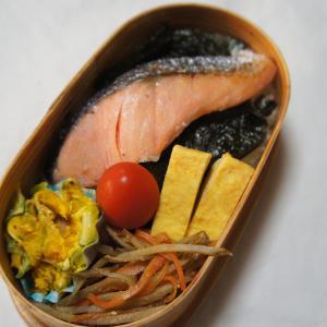 11月18日(月) 鮭弁当&秋なの?