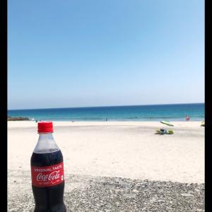 海とコーラと砂浜と