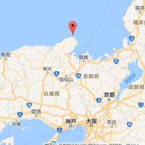 大阪最南端から京都最北端へ日帰り旅行
