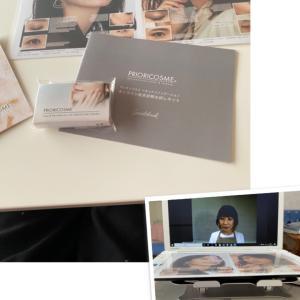 プリオリコスメ秋メイクデモンストレーション&オンライン肌色診断!