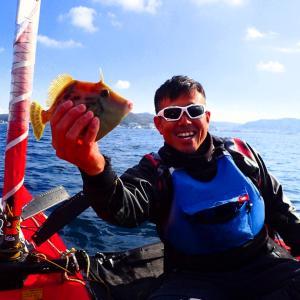 ヨットで釣りっておもしろい!