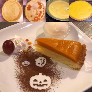 ☆ハロウィン^_^かぼちゃのタルト