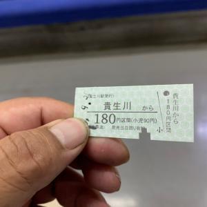 レトロな切符、近江鉄道
