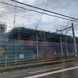 敦賀駅も新幹線の準備だね