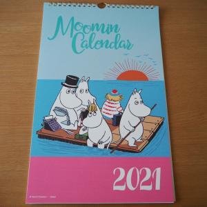 2021年はムーミンカレンダー♡