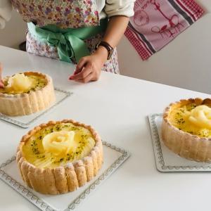 洋梨のケーキ、シャルロット・ポワール