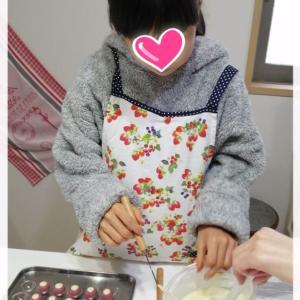 子供達とチョコ作り