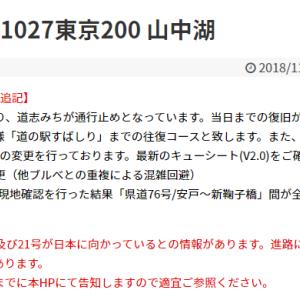 台風20号・21号!?