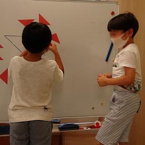小学校一年生少人数クラスの様子