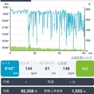 四万十川ウルトラ60レポ③ EPSONデータ
