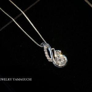【製作過程】ダイヤのネックを別デザインへジュエリーリフォーム