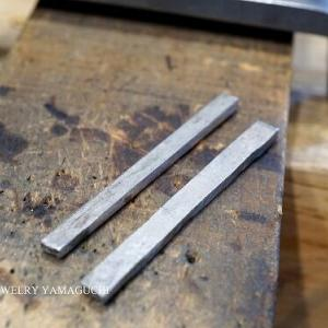 【製作過程】カーブした形状の結婚指輪①