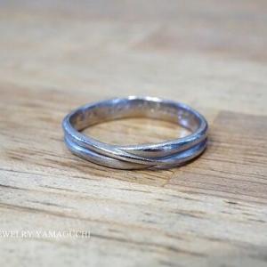 【傷落とし】結婚指輪の新品仕上げ