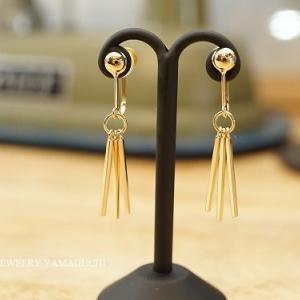 【K18】大人なイヤリングをオーダーメイド