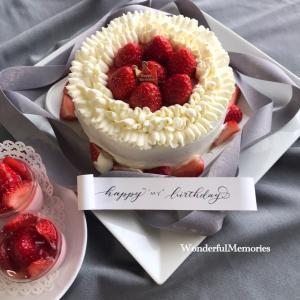 Happy MY Birthday!サロンドマリーのお菓子でお祝い