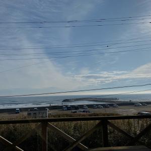 茨城の海見ながら三連休