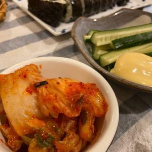 チーズタッカルビ、キンパブ