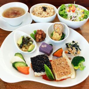 ランチメニュー(2019/11/19〜12/1)豆腐のステーキ Tofu Steak with Tomato sauce