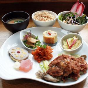 ランチメニュー(2019/1/7〜1/12)精進ステーキ Vege Steak