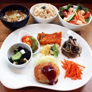 ランチメニュー(2019/9/22〜10/4)ベジ・メンチカツ Vege Minched meat cutlet
