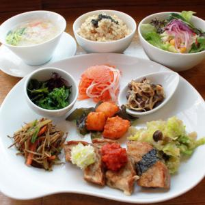 ランチメニュー(2019/3/26〜4/7)ベジ・ポークソテー Vege Sauteed Pork