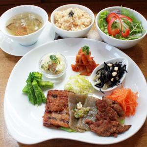 ランチメニュー(2019/5/14〜5/26)ベジ・焼き肉ランチ Vege Korean BBQ