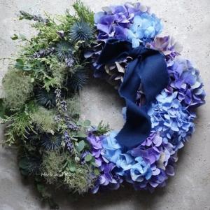 季節感あふれる紫陽花