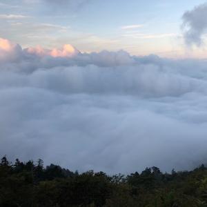 剣山に登り、雲海→満天の星空→御来光を見る!見たいものを見られました!