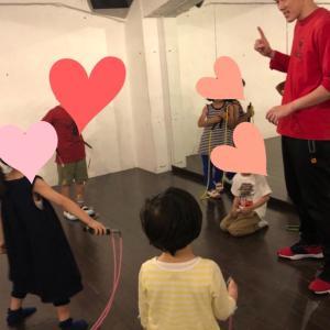 縄跳び・ダブルダッチのレッスン!8月の予定。