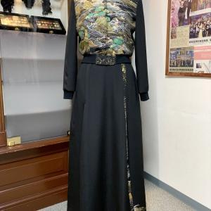 【新作紹介】Dahlinaty初の洋服スタイル リブブルゾン&スカート 黒留袖