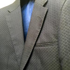 Dahliantyオーダースーツ お客様オーダー紹介 胸ポケットに両玉縁仕様