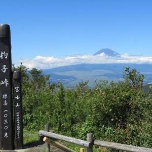 箱根にお泊り(2)杓子峠~三国峠