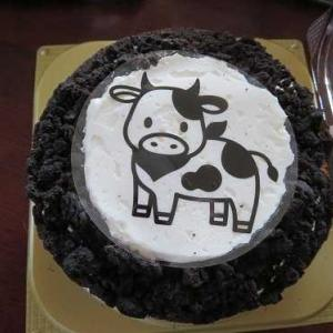 載せ忘れた画像、元旦のケーキ・・・