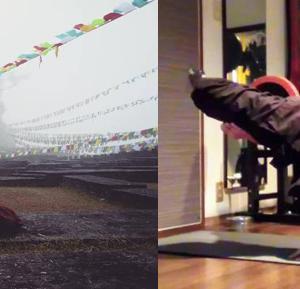 斬新、真言などをもちいた「マントラ呼吸法」・「マントラ瞑想法」