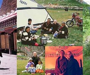 """チベットの五体投地...""""今月の生き方塾、テーマは祈る力、三毒という煩悩に惑わされないように…"""""""